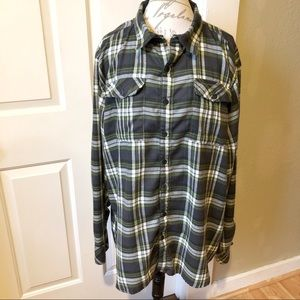 Craghoppers Plaid Flannel Button Down Shirt
